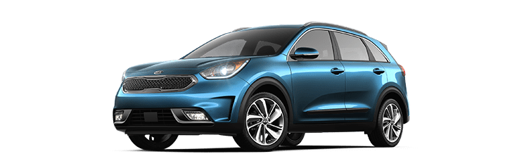 New Kia Niro near Edmonton