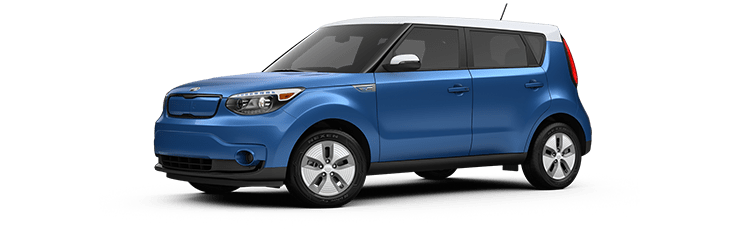 New Kia Soul EV near Edmonton