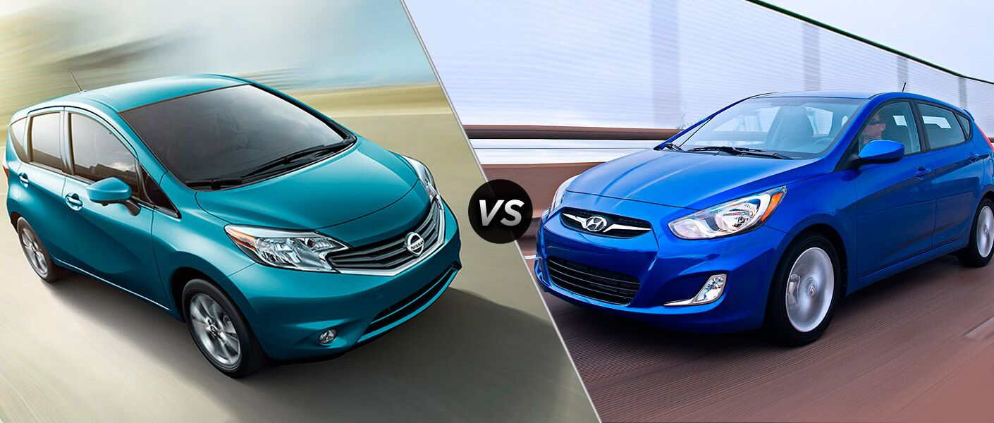 2015 Nissan Versa Note vs 2015 Hyundai Accent Houston TX