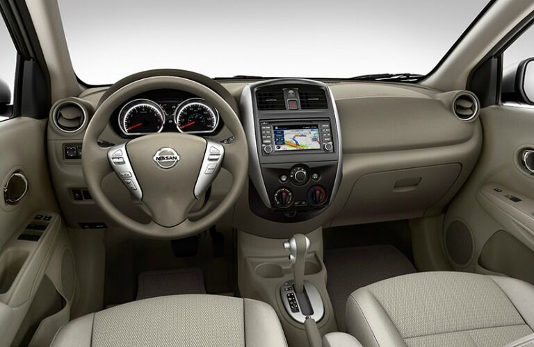 2015 Nissan Versa Trim Comparison