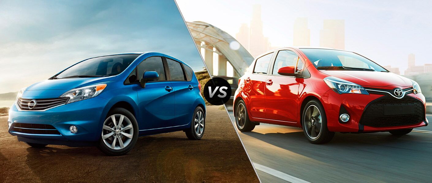 2015 Nissan Versa Note vs 2015 Toyota Yaris Houston TX