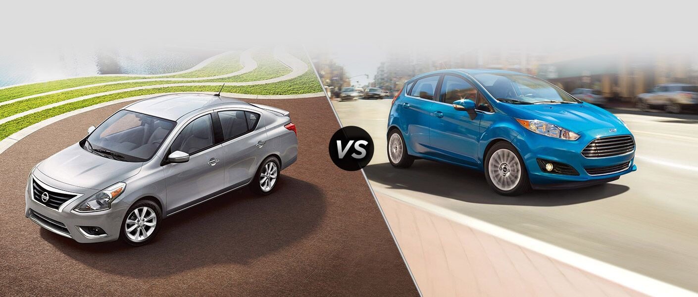 2015 Nissan Versa vs. 2015 Ford Fiesta Houston TX