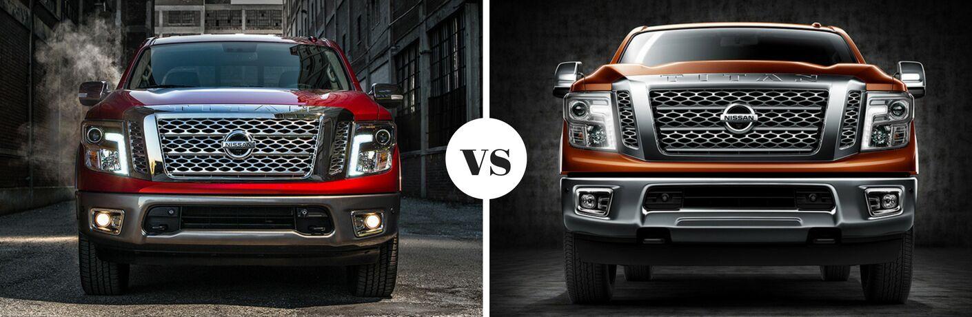 2018 Nissan TITAN vs 2018 Nissan TITAN XD Comparison