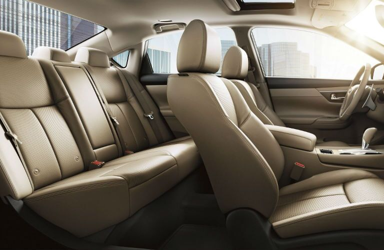 2018 Nissan Altima profile view of interior and seating