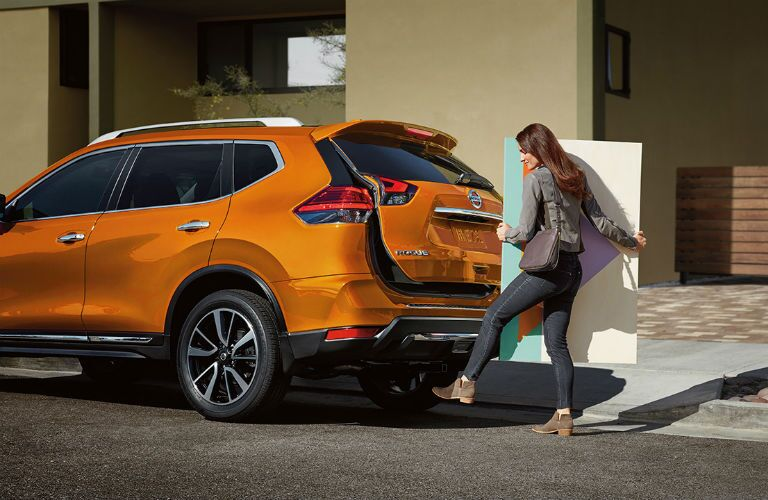 2018 Nissan Rogue with available power liftgate