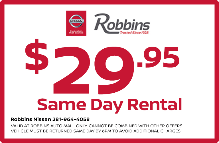 So, Are You Ready To Drive Away In Style With The Robbins Nissan Rental Car  Service? If So, Then Weu0027d Love To Speak To You!