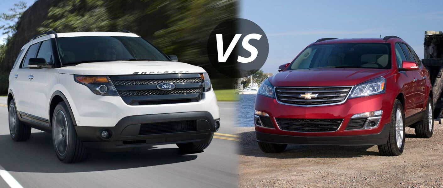 2014 ford explorer vs 2014 chevy traverse. Black Bedroom Furniture Sets. Home Design Ideas