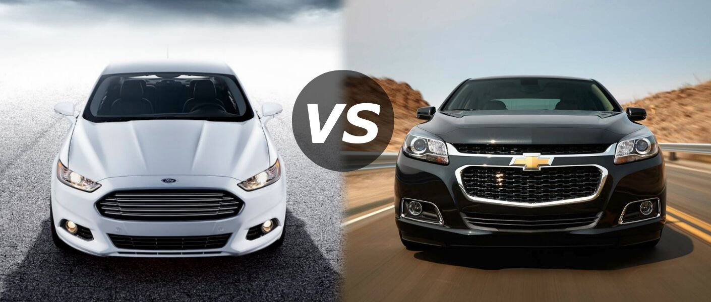 2017 Ford Fusion Vs Chevy Malibu Comparison