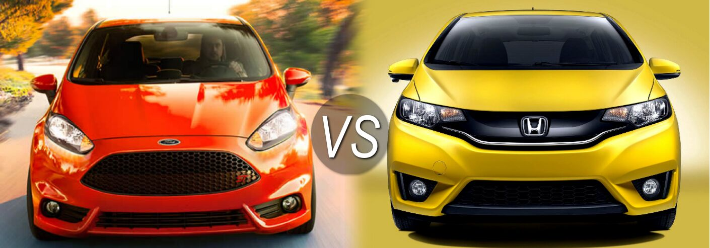 2015 Ford Fiesta Vs 2015 Honda Fit
