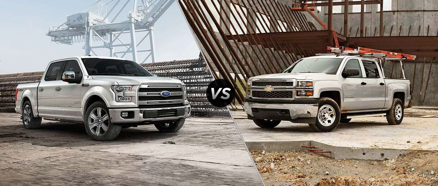 2016 Ford F 150 Vs Chevy Silverado