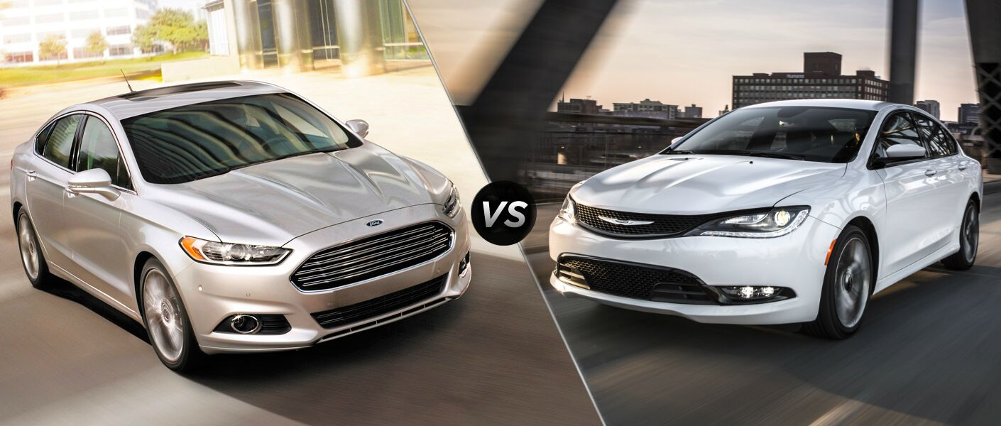 2015 Ford Fusion vs 2015 Chrysler 200