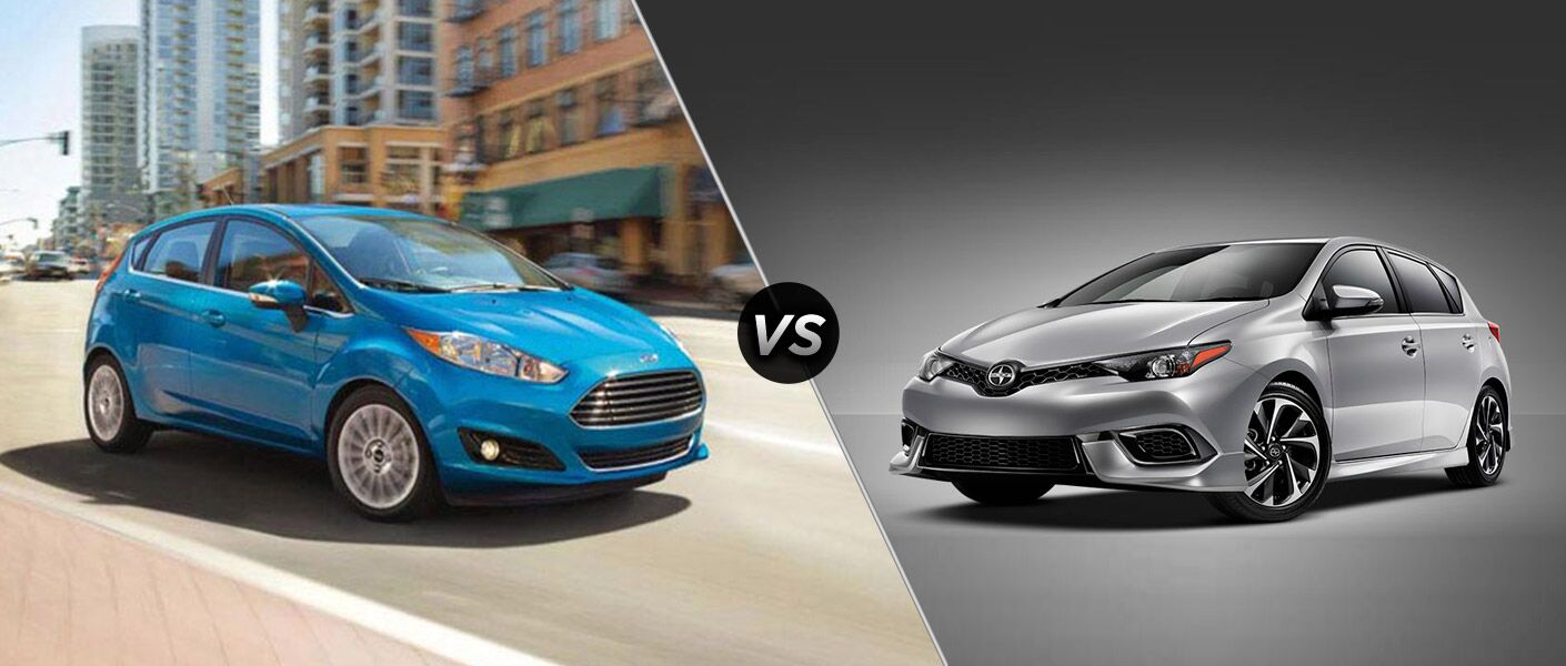 2016 Ford Fiesta vs 2016 Scion iA