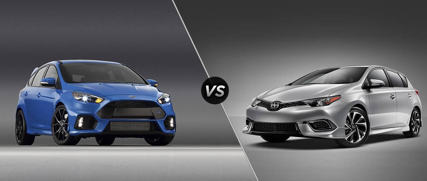 2016 Ford Focus vs 2016 Scion iA