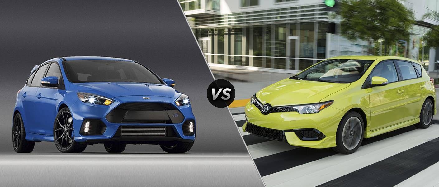 2016 Ford Focus vs 2016 Scion iM