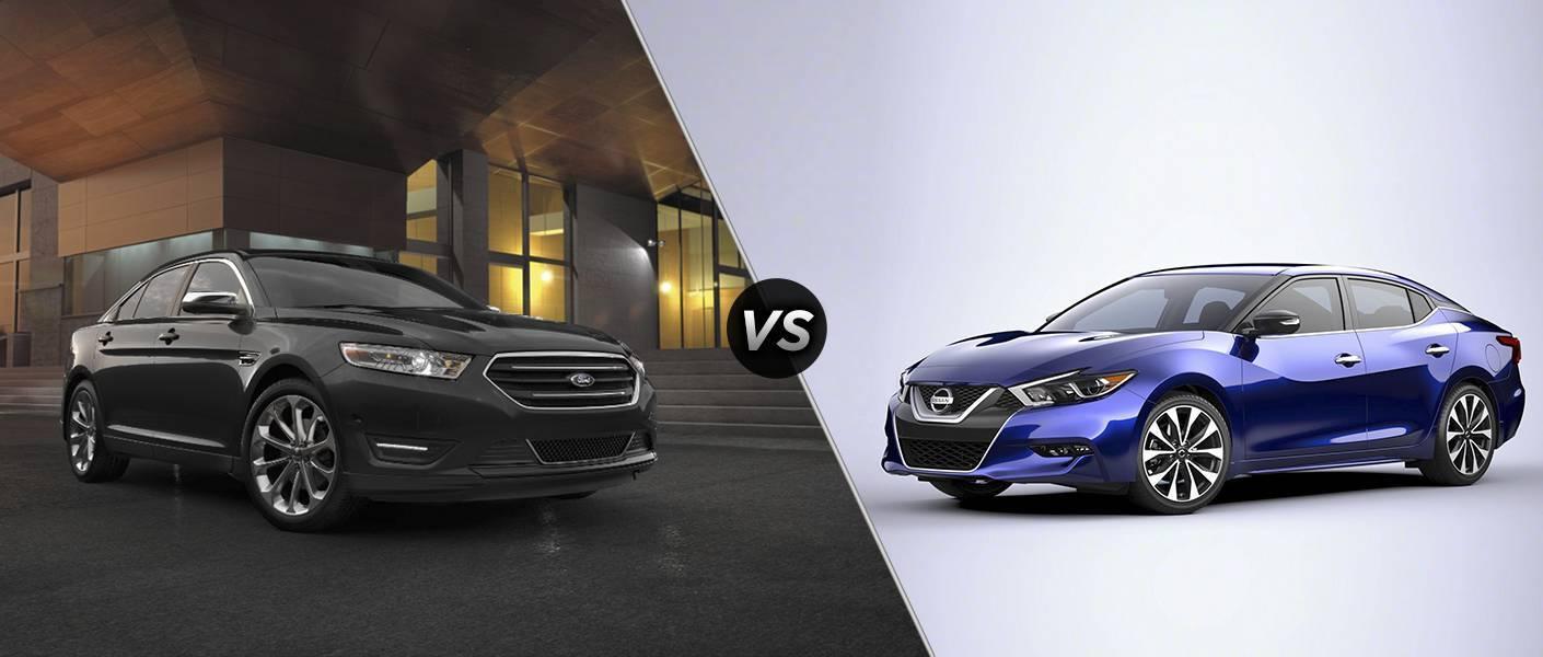 2016 Ford Taurus vs 2016 Nissan Maxima
