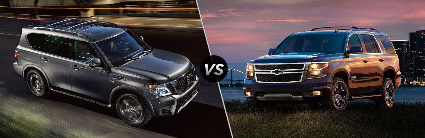 2017 Nissan Armada vs 2017 Chevrolet Tahoe