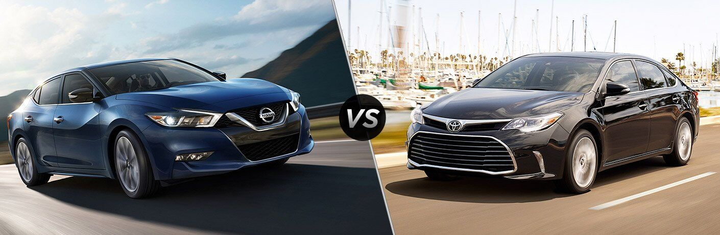 2017 Nissan Maxima vs 2017 Toyota Avalon