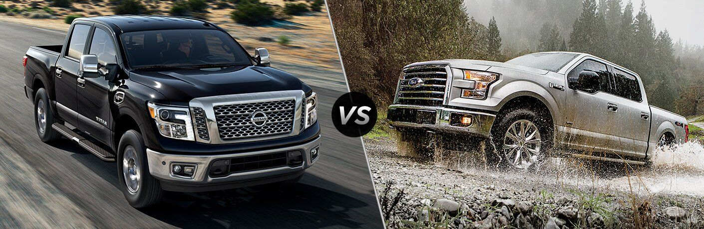 2017 Nissan Titan vs. 2017 Ford F-150