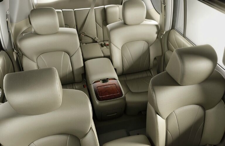 2017 Nissan Armada seating capacity and cargo volume