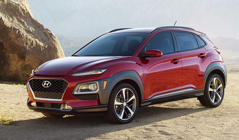 2018 Hyundai Kona Exterior Driver Side Front Profile