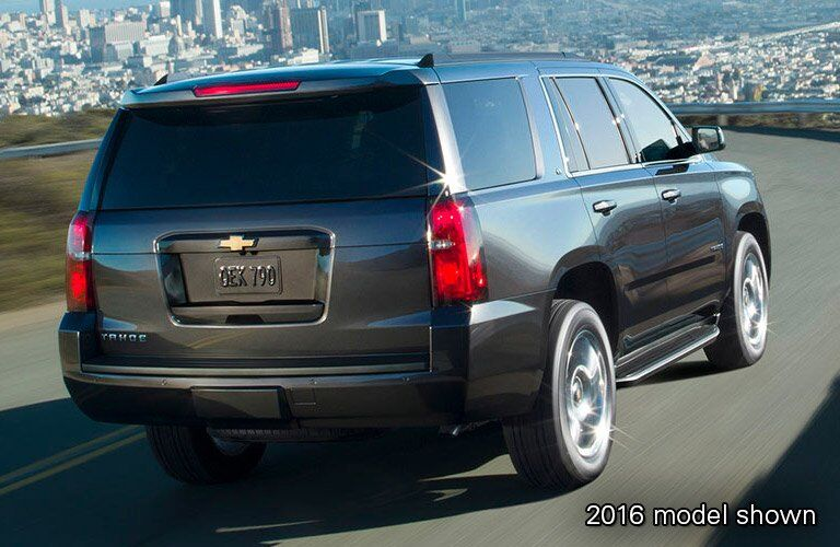 2017 Chevy Tahoe exterior rear