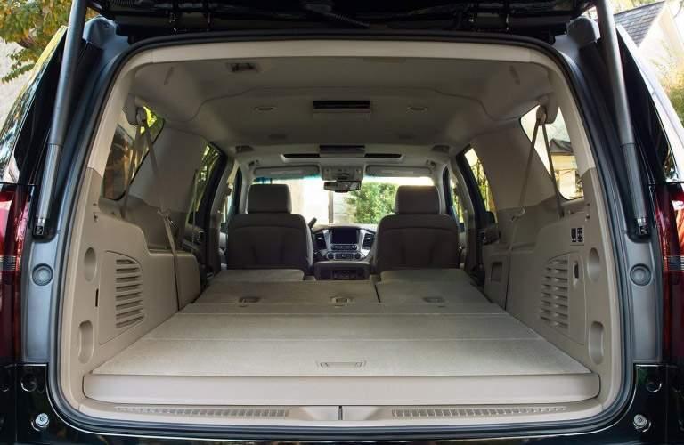 2017 Chevy Suburban interior cargo space