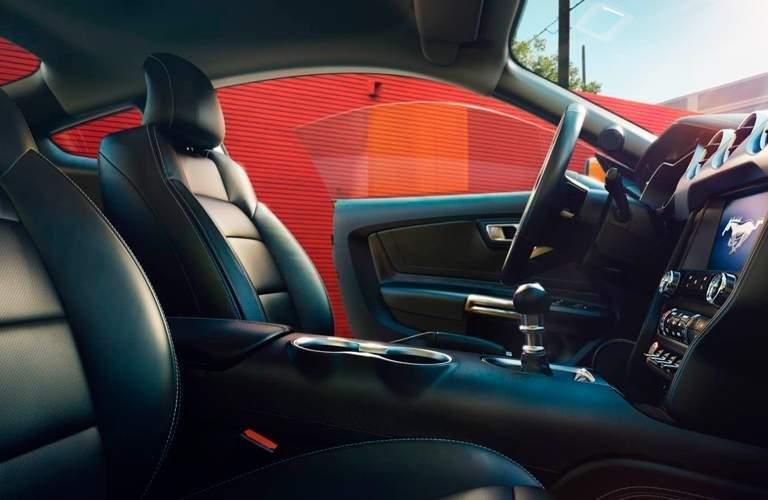 2018 Mustang Interior Design