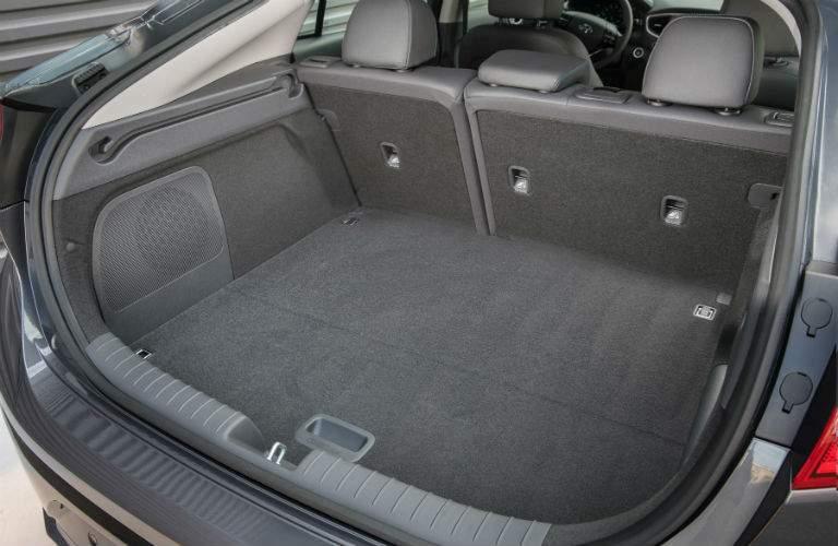 2018 Hyundai Ioniq Hybrid interior cargo space