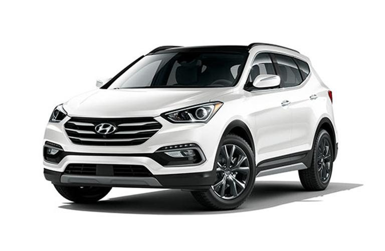 2018 Hyundai Santa Fe Sport full view
