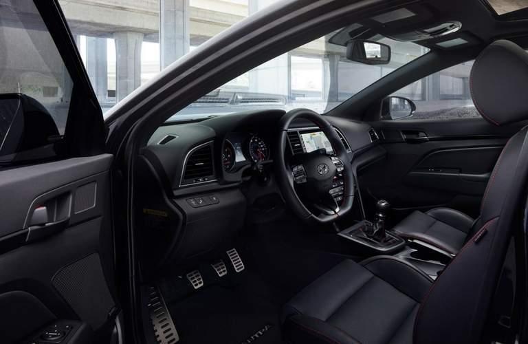 2018 Hyundai Elantra interior front