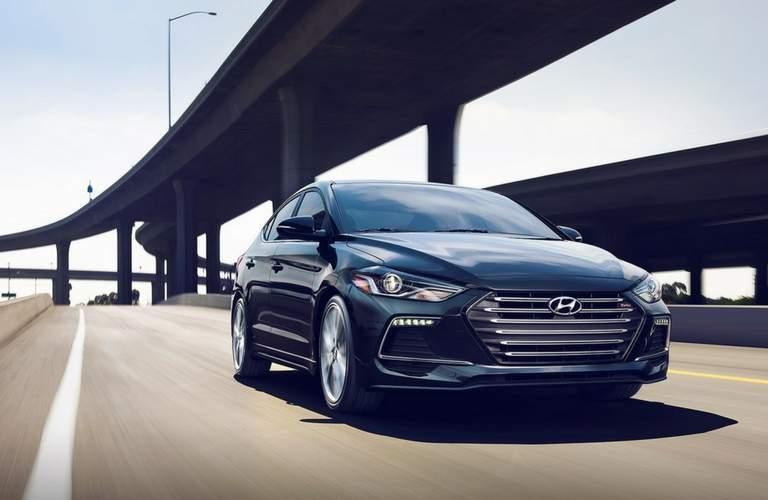 2018 Hyundai Elantra exterior front fascia