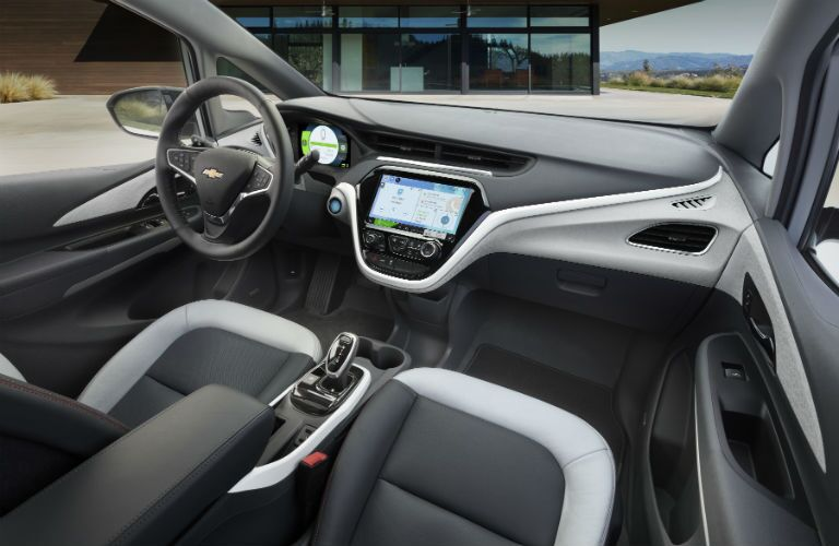 2019 Chevy Bolt EV Interior Cabin Dashboard & Front Seating