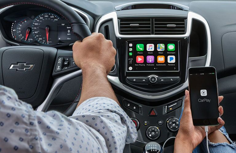 2019 Chevrolet Sonic infotainment system