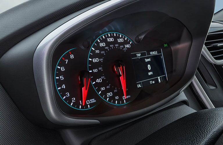 2019 Chevrolet Sonic gauges
