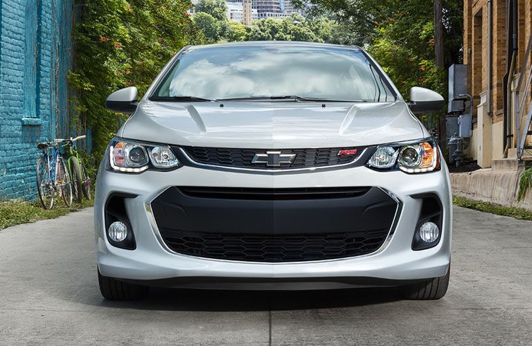 2019 Chevrolet Sonic front fascia