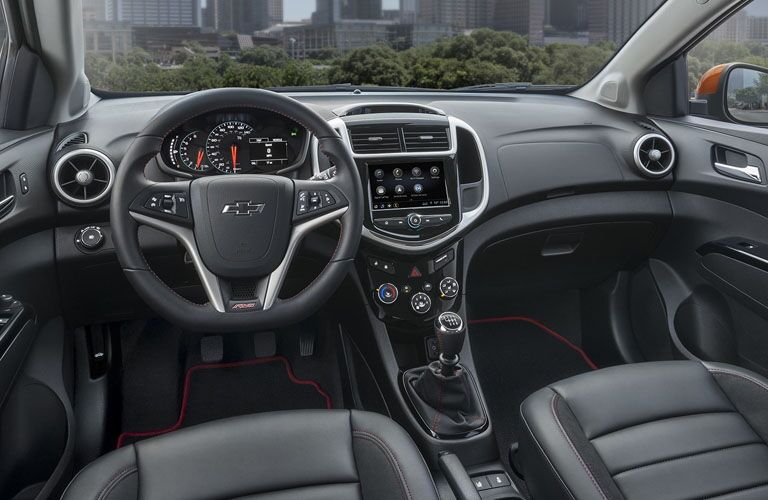 2019 Chevrolet Sonic interior front