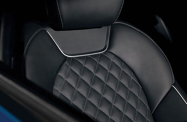 quilted leather seats of 2019 genesis g70
