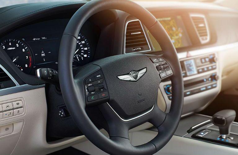 2019 Genesis G80 Interior Cabin Dashboard