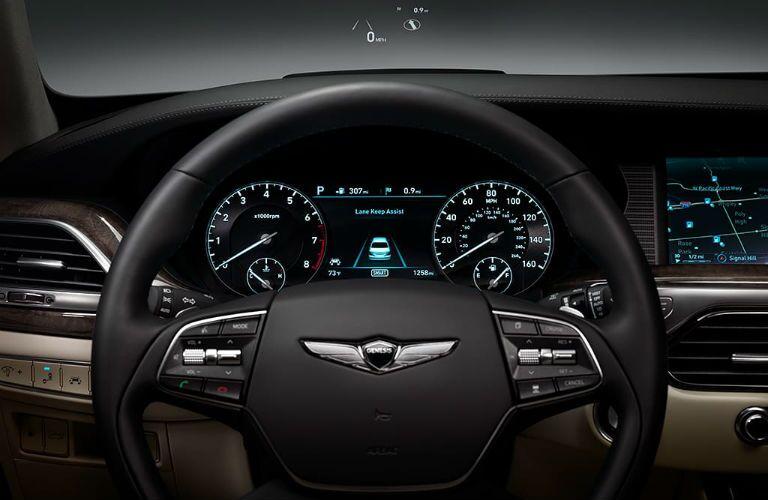 2019 Genesis G90 Interior Cabin Dashboard