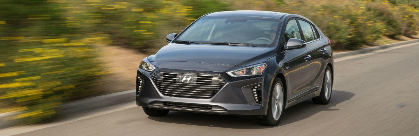 2019 Hyundai Ioniq Exterior Driver Side Front Angle