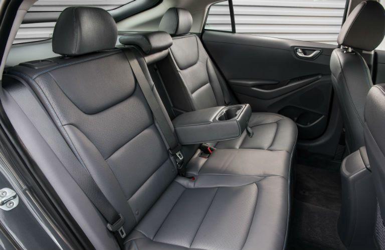 2019 Hyundai Ioniq Interior Cabin Rear Seating with Cupholder