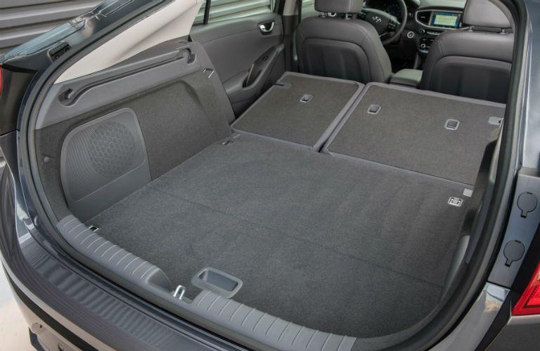 2019 Hyundai Ioniq Hatchback Cargo Area with Seats Folded Flat