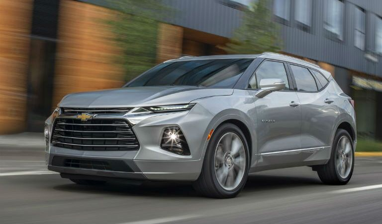 2019 Chevy Blazer Exterior Driver Side Front Profile