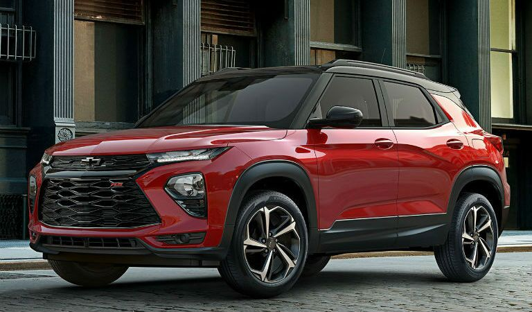 2021 Chevy Trialblazer Exterior Driver Side Front Profile