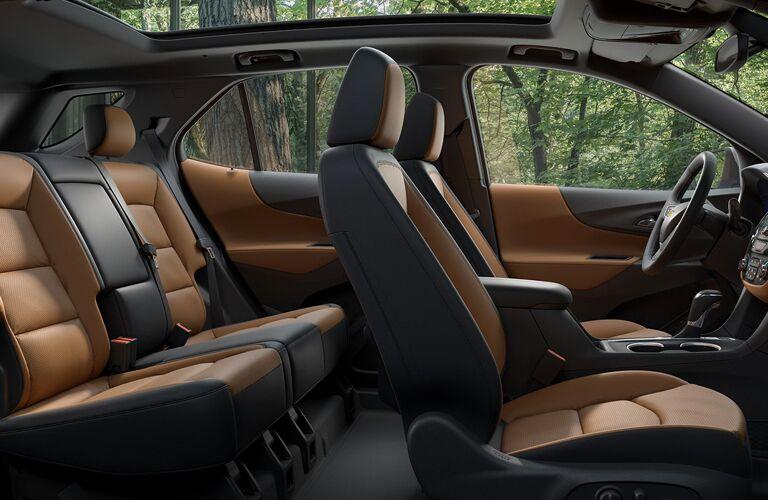 2020 Chevy Equinox Interior Cabin Seating Area