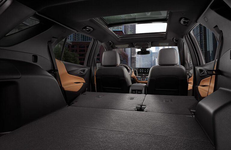 2020 Chevy Equinox Interior Cabin Cargo Area with Seats Flat