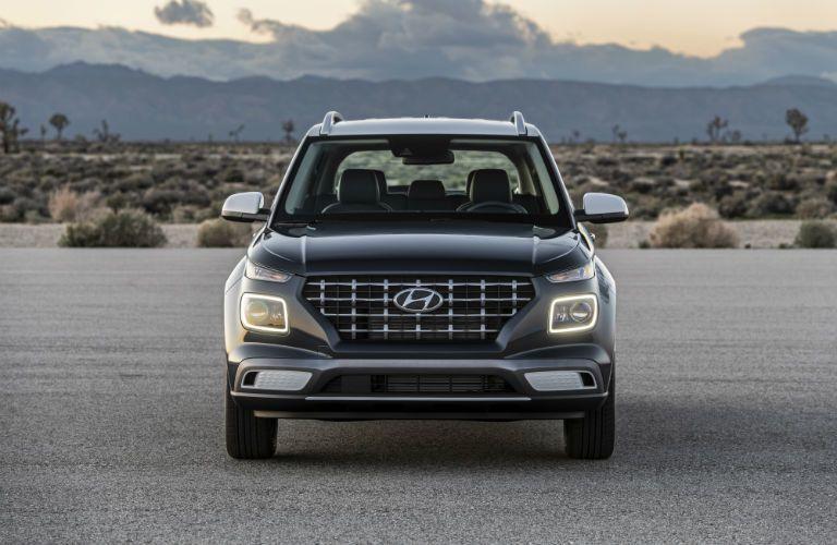 2020 Hyundai Venue Exterior Front Fascia with Two-Tone Exterior