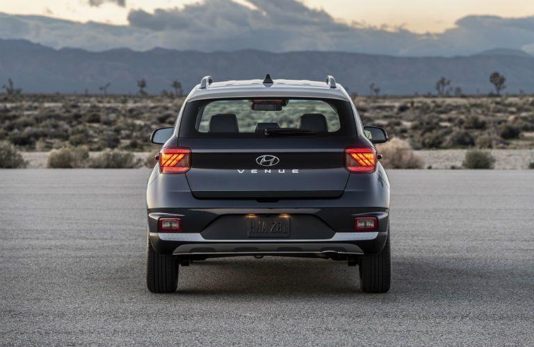 2020 Hyundai Venue Exterior Rear Fascia with Two-Tone Exterior