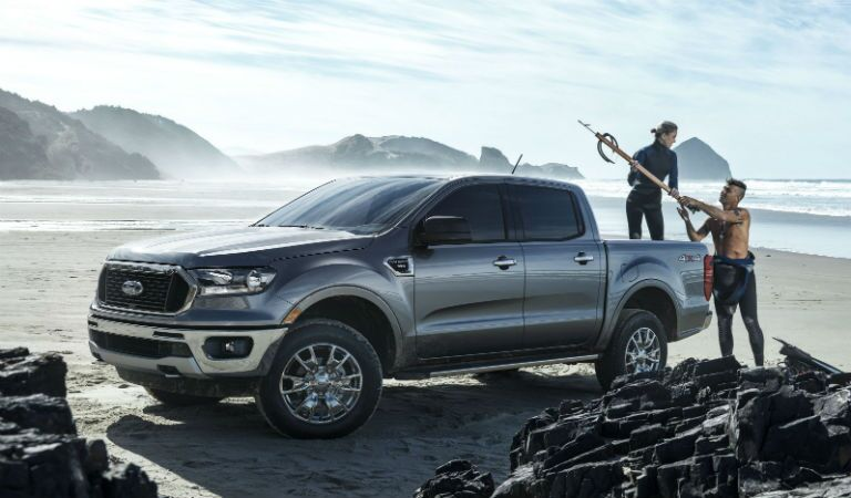 2019 Ford Ranger Exterior Driver Side Front Profile