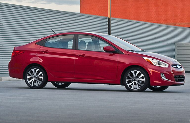 2017 Hyundai Accent exterior features
